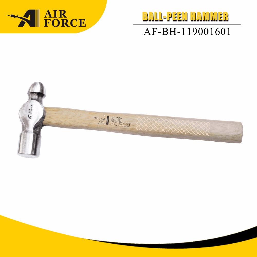 2lb Ball pein hammer with wood handle