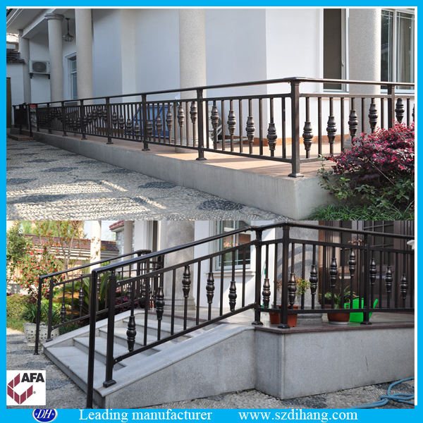 Fonte main courante moderne balustrades en fer forg balustrades en fer forg escaliers for Balustrade fer forge