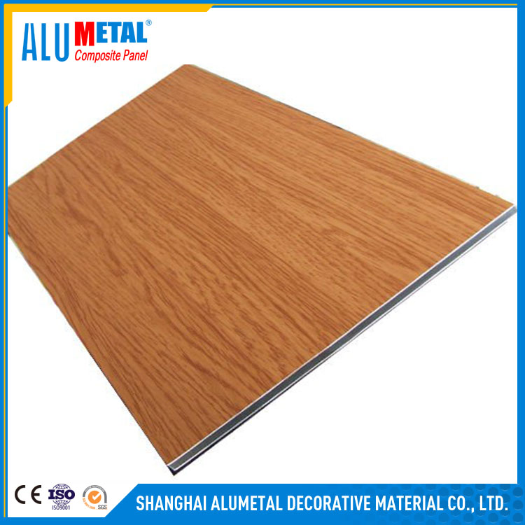4mm PE/PVDF coated acp 3d wall panels white wood wall paneling aluminium composite panel
