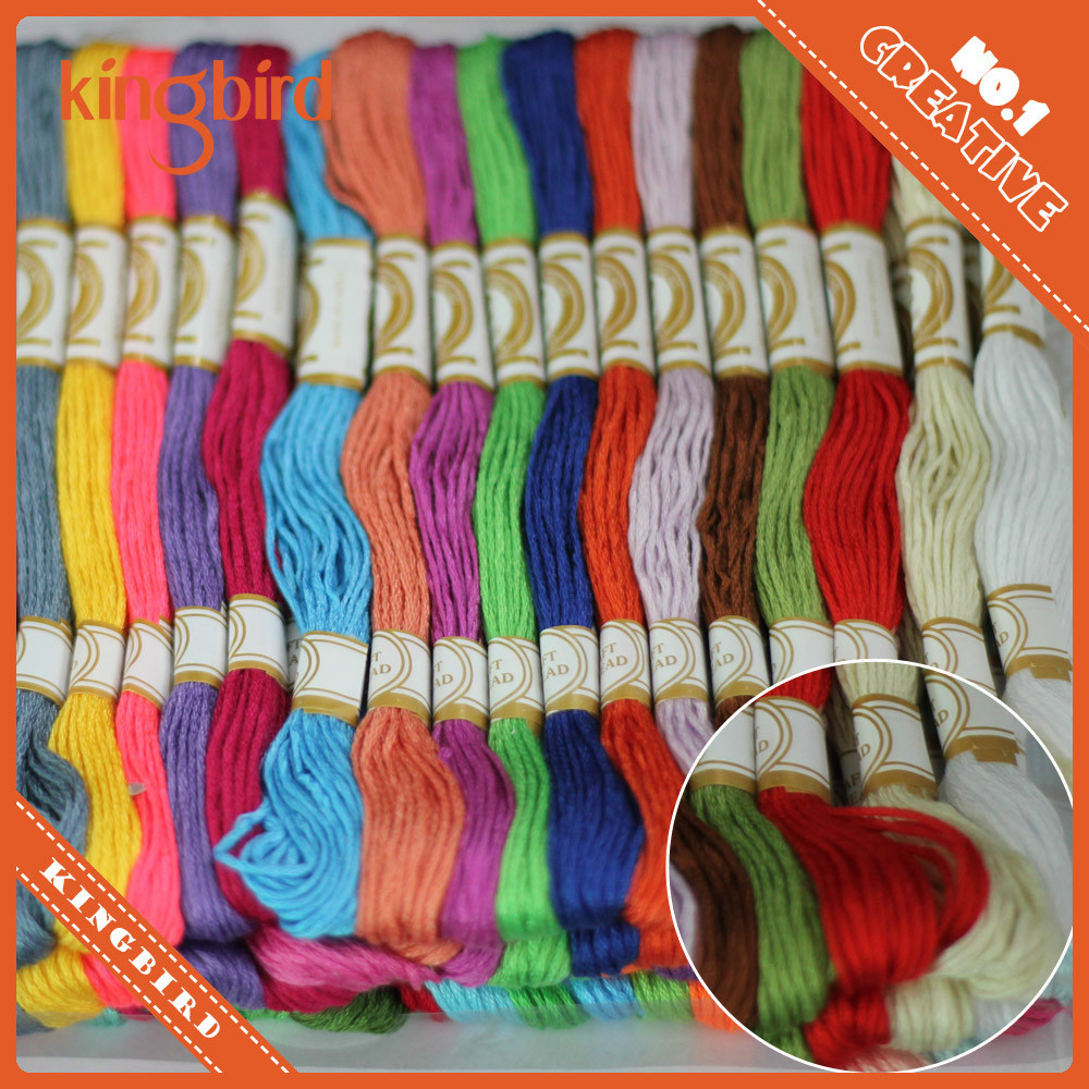 Hand craft cross stitch skein embroidery thread cotton yarn for knitting
