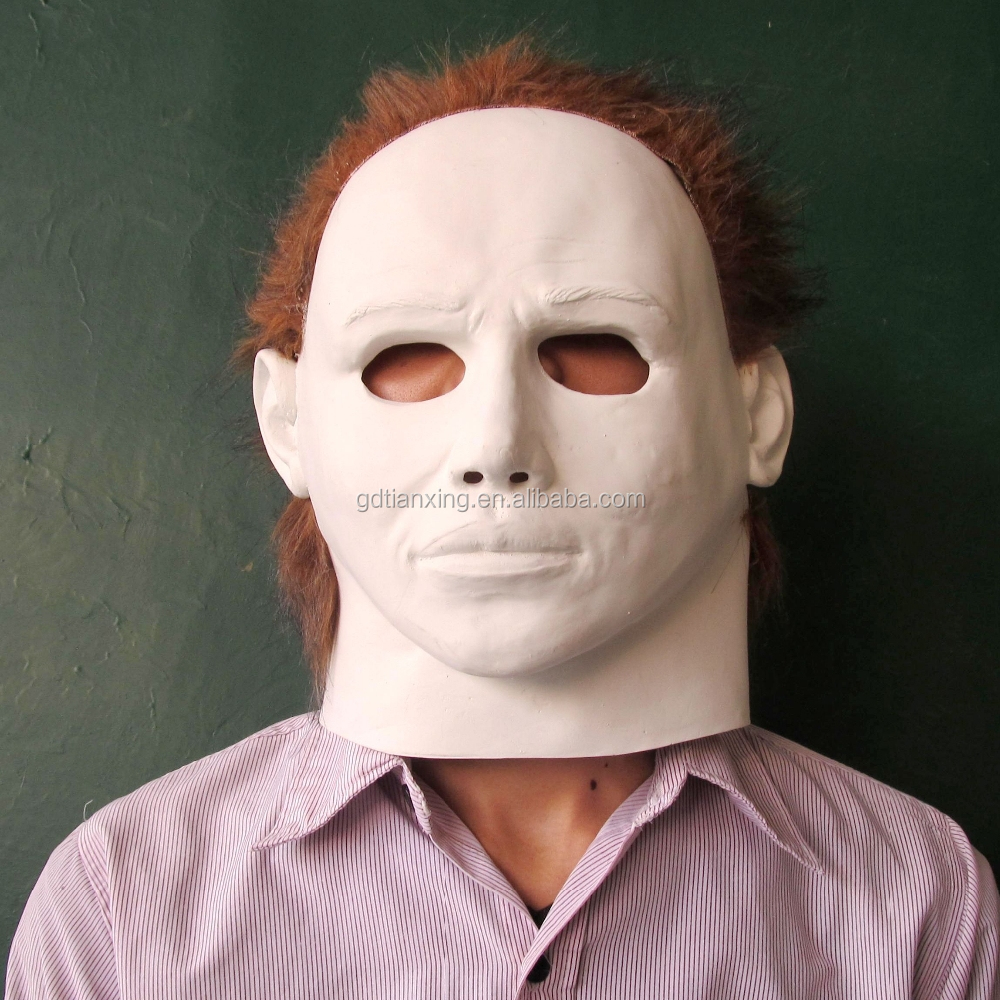 latex michael myers party horror bleeding halloween mask - buy