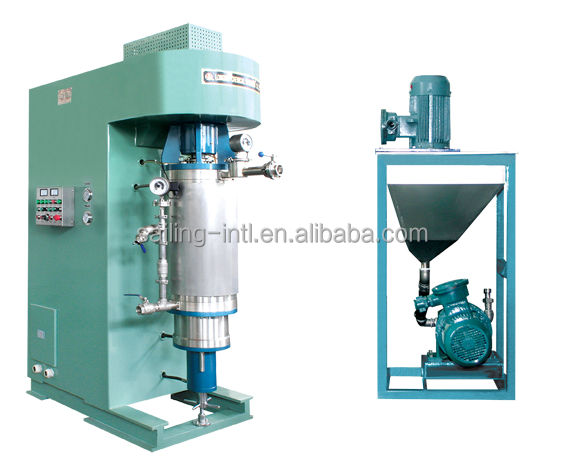 WSH vertical grinding ink mill machine Industrial sand mill