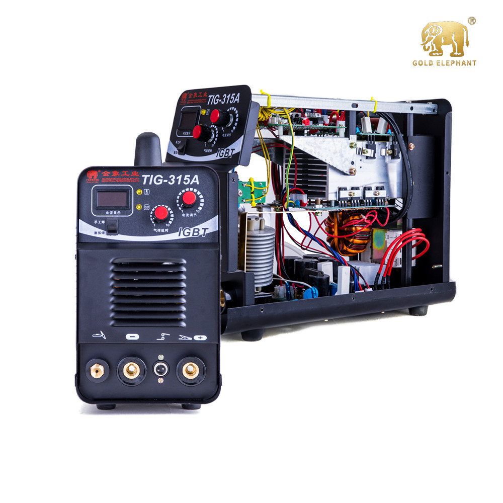 Digital control IGBT Heavy Duty ac dc 3 in 1 Inverter Argon Gas Tig mma Pulse Aluminum Industrial TIG <strong>Welding</strong>