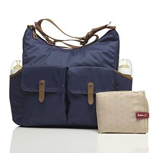 64e291b3cc5a Get Quotations · Babymel Frankie Baby Changing Nappy Bag - Navy by Babymel