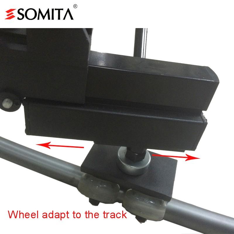 Somita St-301 Dolly Curve Camera Heavy Video Slider Tripod Dolly ...