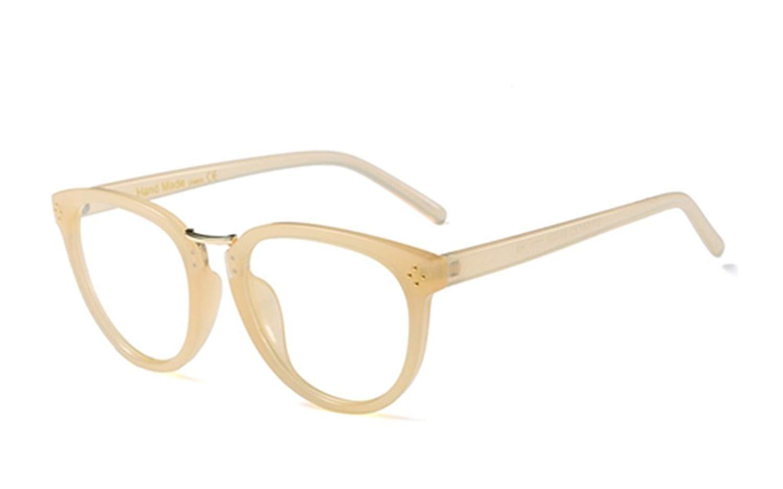2f144e6dc2a0 PenSee Optical Frames Metal Unique Designer Oval Round Eyeglasses Eyewear.  5.99. null. Get Quotations · Eyeglasses Frames Vintage Men Women Brand  Designer ...