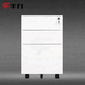 Commercial Furniture Steel File Cabinet/Mobile Pedestal 3 Drawers Office Workstation
