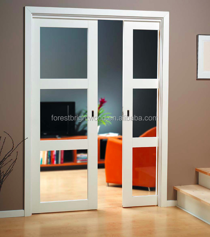 Frosted Glass White Pocket Door Design For Bathroom Buy Pocket