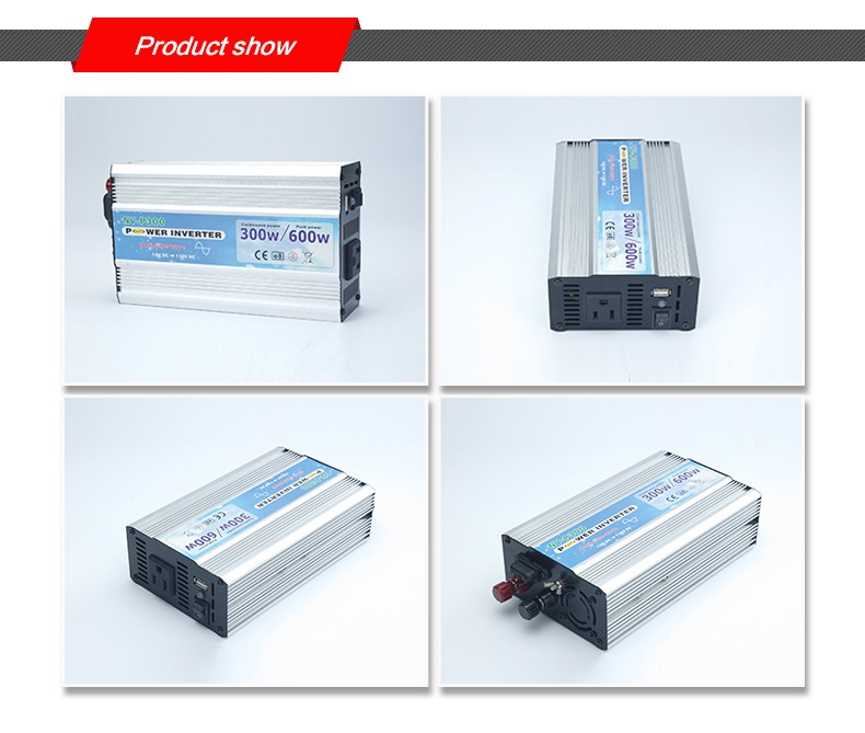 300W off grid dc to ac pure sine wave power inverter