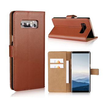 Blank Pattern Flip Wallet Leather PC Hard Back Cover Phone Case For Samsung Galaxy Note 8 7 5 4