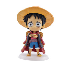 Neueste 6 teile/los Janpan Anime One Piece abbildung Mini PVC Luffy Action-figuren