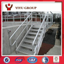 hot galvanized steel pipe step stair ladder and handrail
