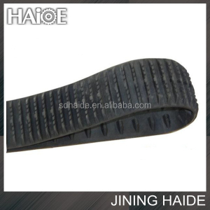 High Quality Excavator Undercarriage Parts PC220-7 Rubber Track