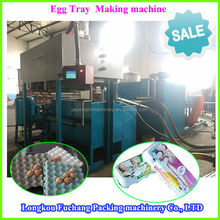 High Output Automatic Paper Egg Tray Machines Production Line 3000-4000 4x8 Series With Metal Dryer