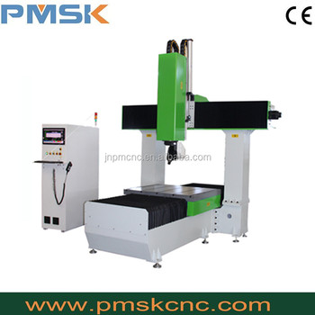 Jinan Topnd Hign Z Axis And 5 Axis Cnc Router Wood Eagle Wood With
