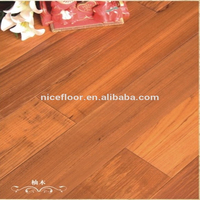 Moistureproof customized smooth teak Myanmar solid hard wood flooring
