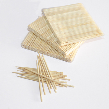 1000 pcs/box cinnamon bamboo wooden toothpick for sale