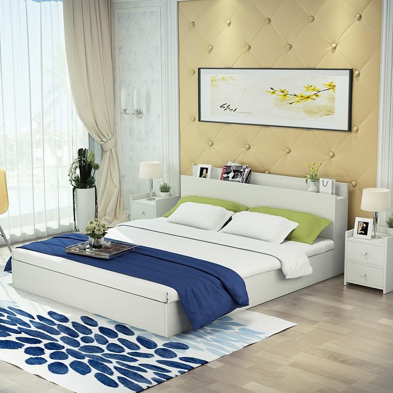 Venta al por mayor cabecero cama madera maciza-Compre online los ...