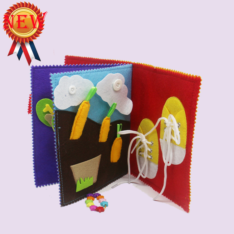 New Coming High Quality No Minimum Fadeless Fabric Diy Education Toy Wholesale From China
