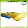 New inflatable water park games flying fish tube banana boat towable water sled for sale