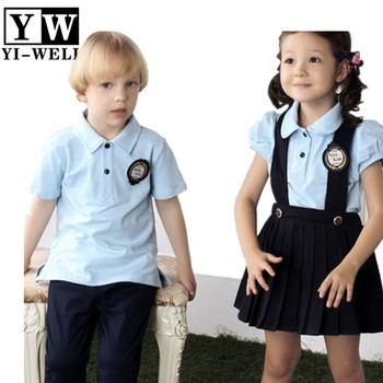 4b362c770 Cute organic cotton kindergarten school uniforms custom cheap kindergarten  uniform