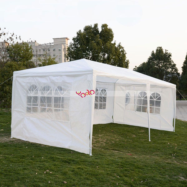 10'x20'Outdoor Camping Party Wedding Tent Heavy duty Gazebo Pavilion Cater Event