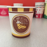 Turkey coffee paper cup 7oz paper cups