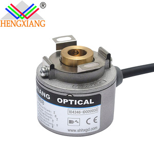 K35 stepper motor with encoder ABZUVW phase 2500ppr 8poles