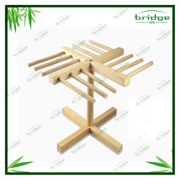 nature wooden rack for noodle drying for household