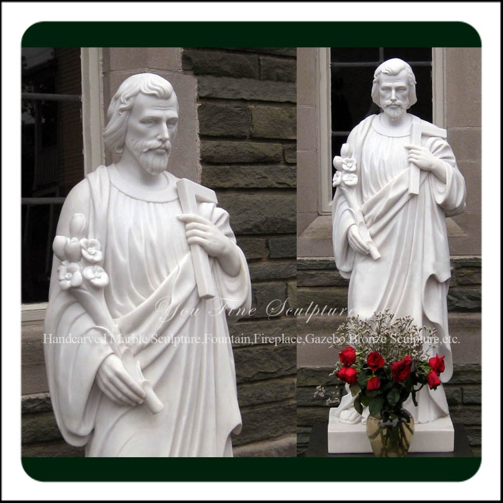 High Quality Christian Marble Religious Garden Religious Statues