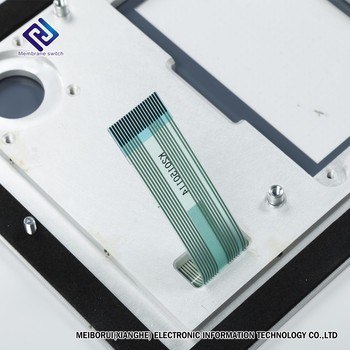 High Quality Durable Aluminum Panel Integrated with Membrane Switch Panel regard as support back panel
