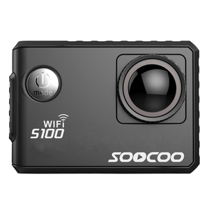 SOOCOO S100 4K WIFI 2.0''HD Screen 20MP Built-in WiFi & GYRO Stabilization 30m Waterproof Voice Prompt Portable Action Camcorder
