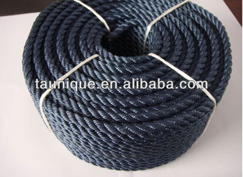 Black Nylon Twisted Rope 26