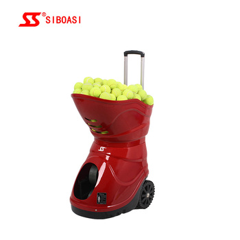 New SIBOASI Factory W7 Tennis Ball Machine with Remote Control for Sale