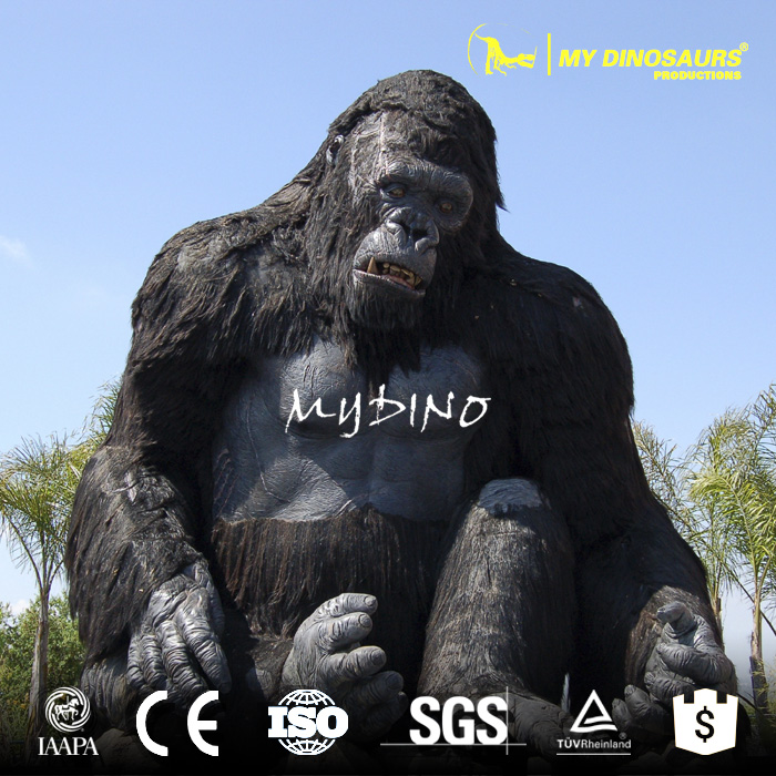 My-Dino Farm Animal Theme And Resin Material Resin Animals Life Size King Kong