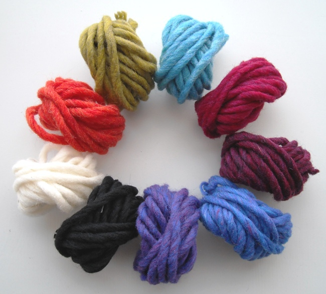 Very Very Thick Yarn Hand Knitting For Knit Hat With Needle