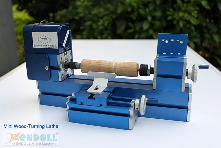 Mini Woodturning Bubut Mesin Logam Woodworking Alat Diy Untuk
