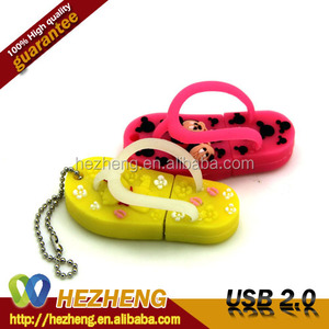 Cheapest Animal Logo Pendrive 32GB Mini Slipper USB Lipstick 2.0 Customized