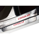Hot selling Stainless steel door sill scuff plate for Corrola Auto Accessorial