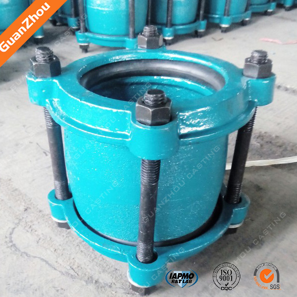 hot sale alibaba China ductile cast iron flexible coupling pipe dresser coupling