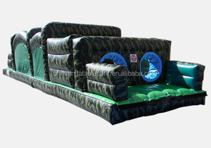 crazy giant the beast boot camp adult inflatable obstacle course