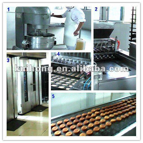 shanghai muffin cake making machine with small capacity 200-350kg/h