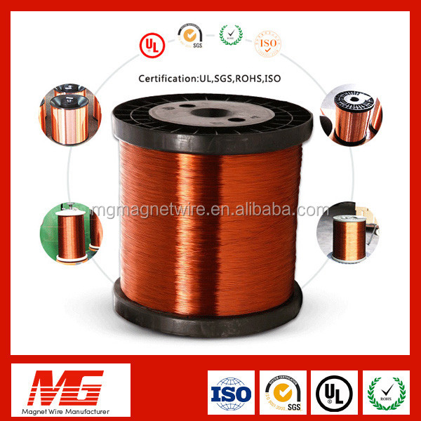 Red Color Triple Insulation Round Shape Enamel Copper Wire Magnet Wire