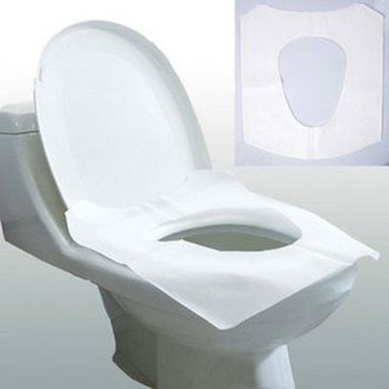 Disposable Travel Pack Toilet Seat Cover Paper With 1/16 Fold