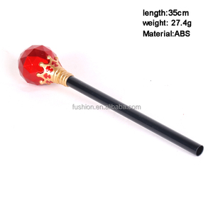 kids children boy party Cosplay ABS plastic king scepter magic wand