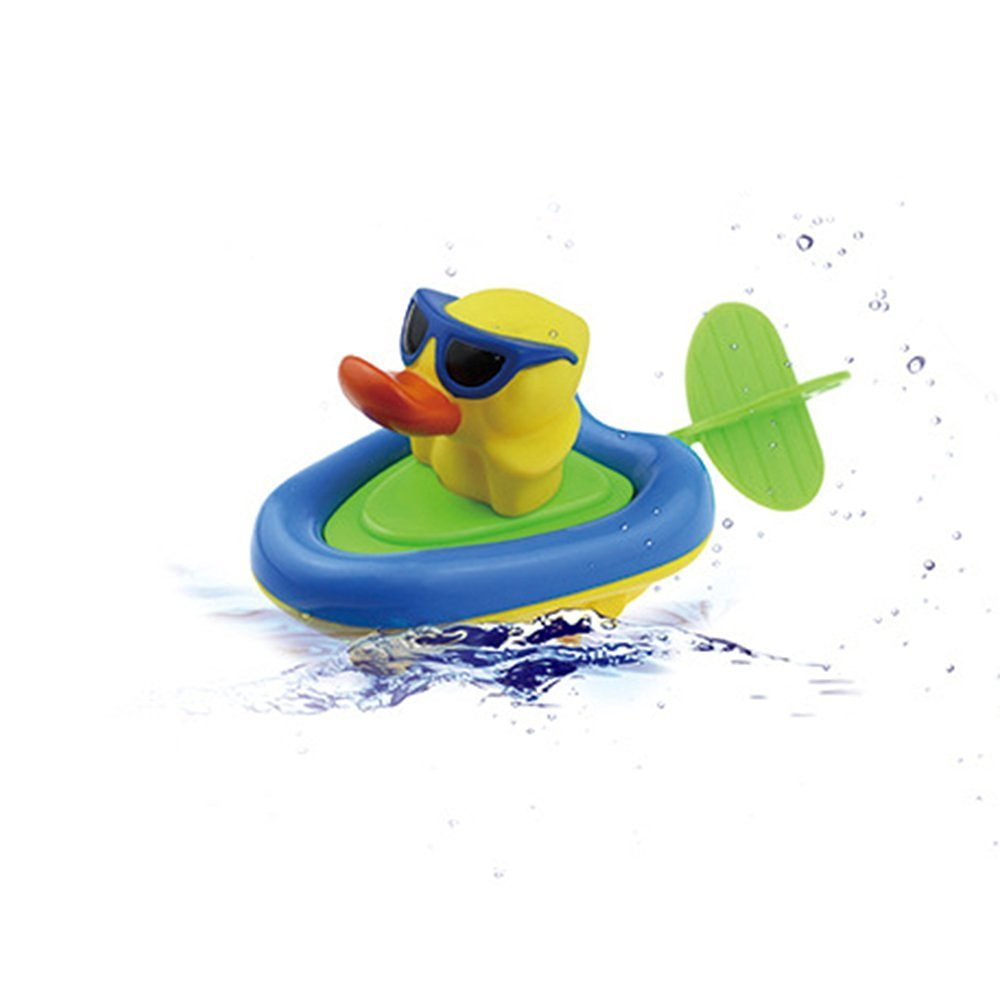 Buy 4inLoveMe Bath Toys Rope Duck Boat for Baby Toddlers Bathtub Toy ...