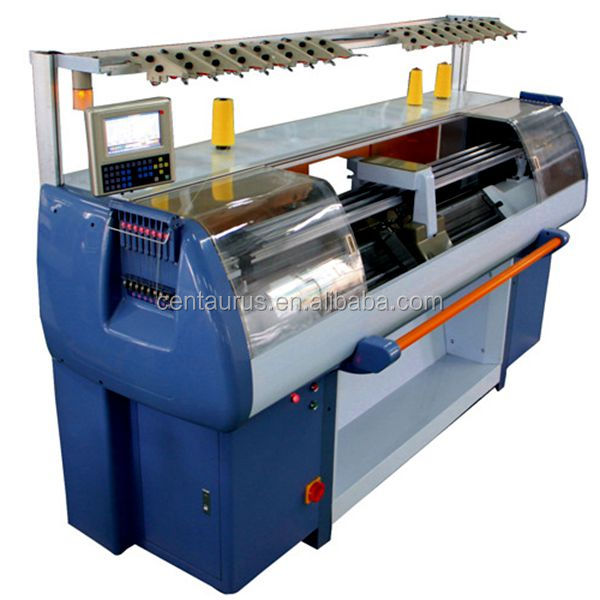 High speed triple systems computerized sweater flat knitting machine with best price