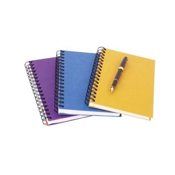 school exercise spiral note book manufacturer with logo print