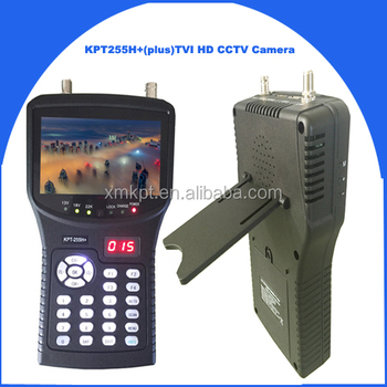 KangPut KPT255H+(plus)TVI full DVB-S2/MPEG4 HDl satellite finder with decoding hd video support TVI&AHD Camera tester