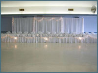 continuous curtain fabric drape for pipe and drape events